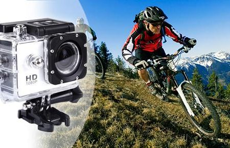 Gear Pro Sports Cam actionkamera med full HD - digitalkamera